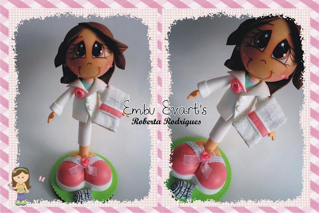 boneca 3d esteticista