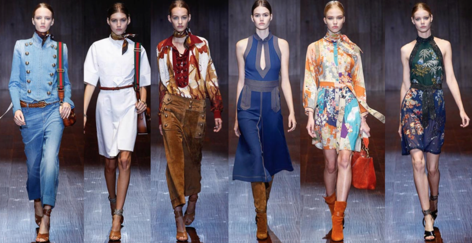 #MFW: Gucci Spring/Summer 2015 Runway & Bags Report