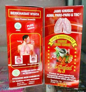 Jual Kapsul Jamu Asma Paru TBC Bronkitis di Surabaya