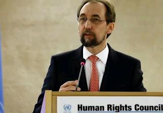 ο Ύπατος Αρμοστής των Ηνωμένων Εθνών για τα Ανθρώπινα Δικαιώματα