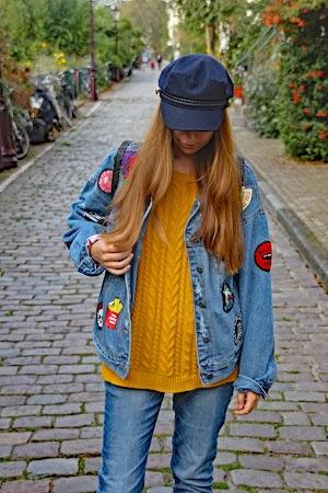 Veste à écussons à Amsterdam