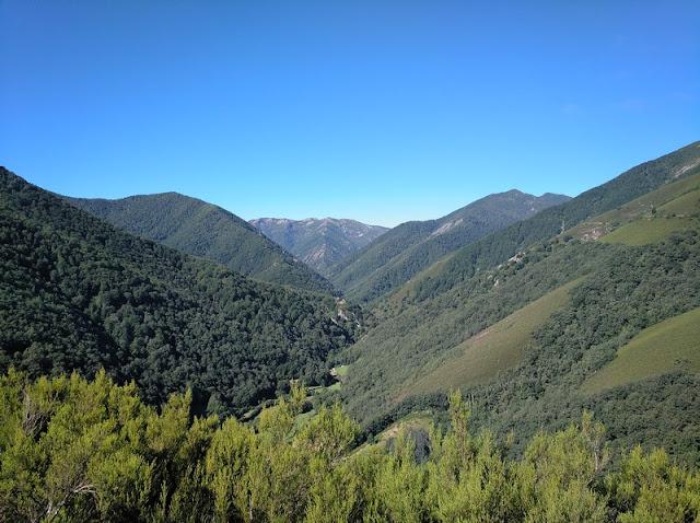 Reserva Natural de Muniellos desde el Centro de Visitantes