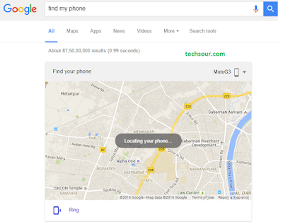 Tech Sour: How to find your lost android device using Android Device Manager