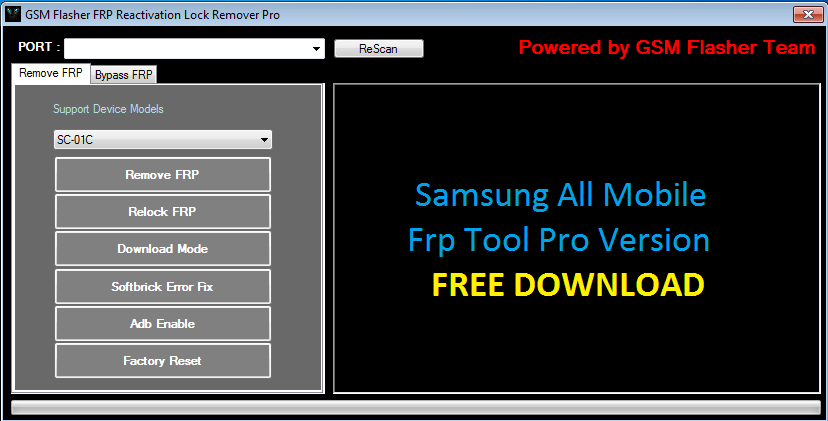 Samsung FRP Unlock Tool Pro