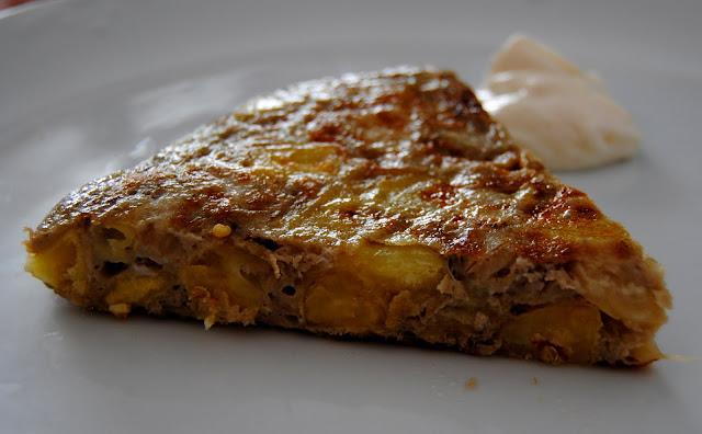 Tortilla de Berenjenas y Patatas