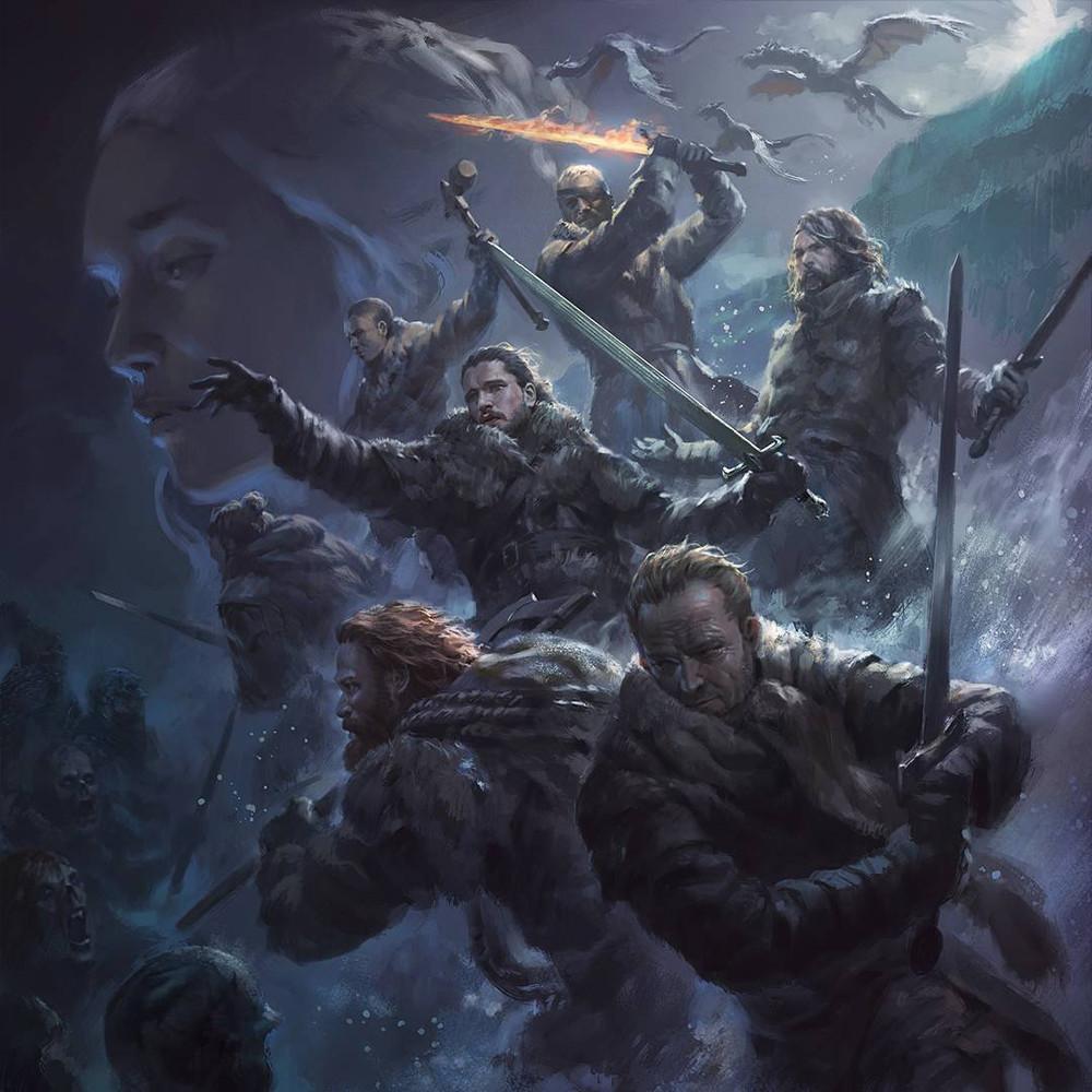 CoolArt Game Of Thrones Beyond The Wall Fan Art By Wisnu Tan