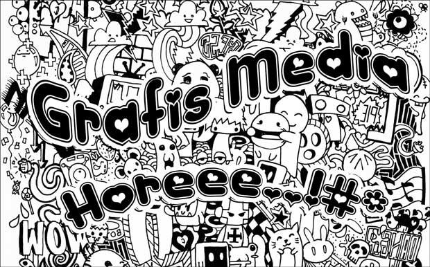 760+ Gambar Doodle Huruf Keren Gratis Terbaik