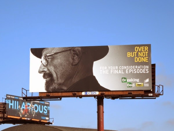 Breaking Bad Over but not done Emmy Consideration 2014 billboard