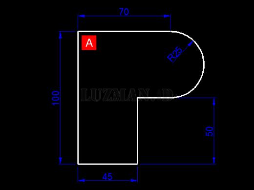 Polyline AutoCAD