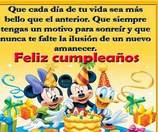 Felicitaciones de Cumpleaños 6