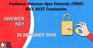 RSCIT Answer Key 21 January 2018 - Check your Answer with Questions