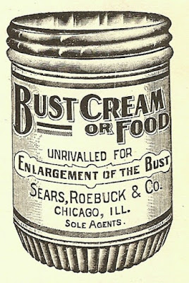 Bust cream or food