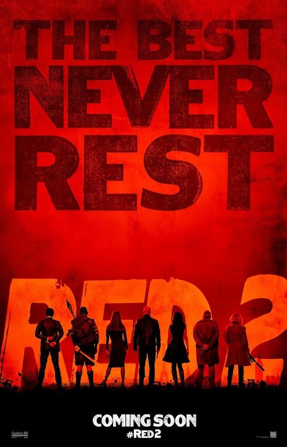 ตัวอย่างหนังใหม่ :  RED2 (คนอึดต้องกลับมาอึด 2) ตัวอย่างที่ 2 ซับไทย Poster