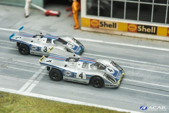 #4 Porsche 917 Daytona Martini & Rossi Racing Team Vic Elford / Gijs van Lennep