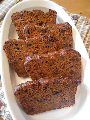 Carrot Raisin Banana Bread, one of my favorite top 5 from 2016.