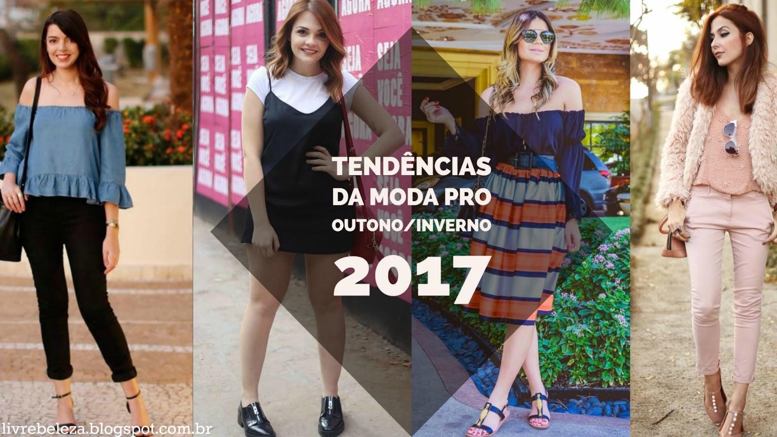 tendência moda outono inverno 2017