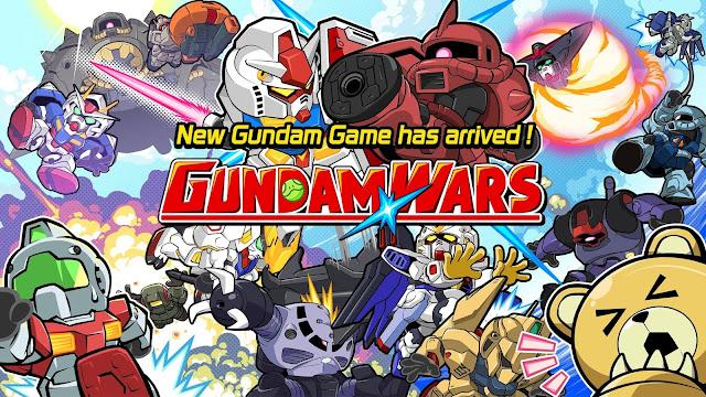 Line Gundam Wars Screenshot 01