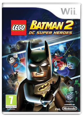 LEGO Batman 2: DC Heroes For The Wii Cover