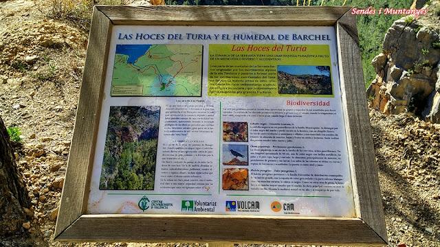 Benageber, humedal de Barchel, Sendes i Muntanyes