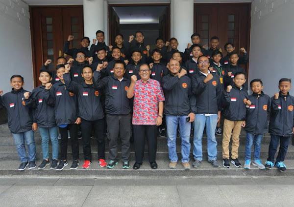 Oded M Danial Lepas Tim ASSBI yang Akan Berlaga di Singapura