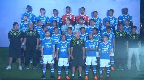 Daftar Pemain Persib Bandung 2018 - Skuat Resmi & Lengkap