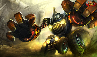 Chinese Piltover Customs Blitzcrank Skin