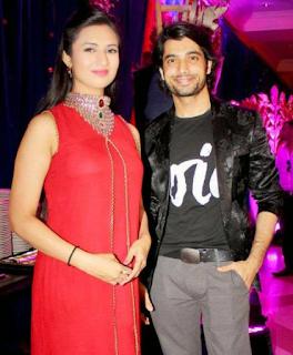 Foto Divyanka Tripathi dengan Sharad Malhotra