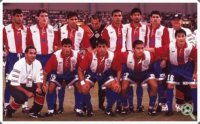 Resultado de imagem para time paraguai time 80