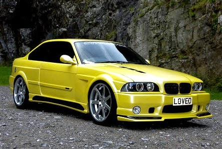 yellow bmw tuning hd-#15