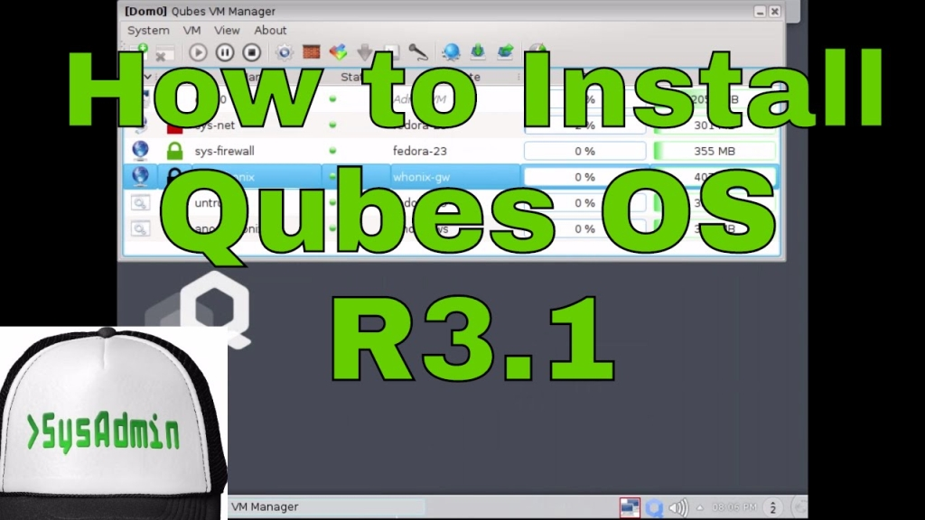 How to Install and Configure Qubes OS 3 1 on VMware - SysAdmin