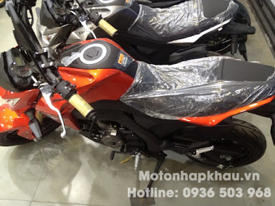 Kawasaki Z125 Thailand