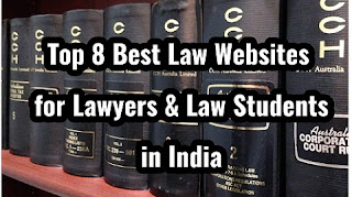 To 8 best law websites for lawyers and law students in india