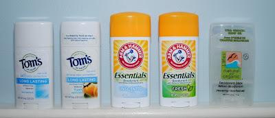 Aluminium Free Deodorants