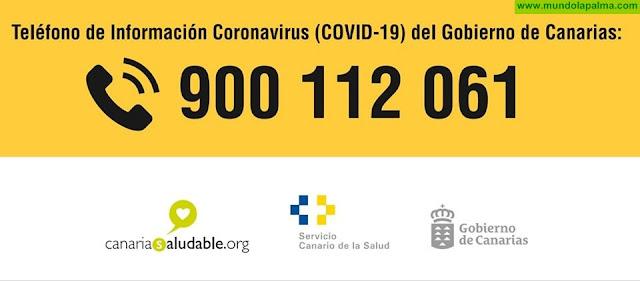 Teléfono de información sobre el CORONAVIRUS COVID-19