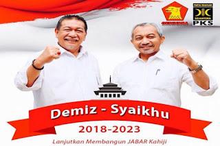 Demokrat, PKS dan PAN Usung Deddy Mizwar-Ahmad Syaikhu di Pilgub Jabar 2018