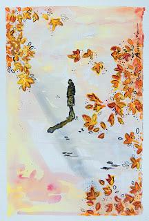 https://www.latelierdannapia.com/ Annapia Sogliani artiste peintre pittrice painter artist Scuola Internazionale di illustrazione di Sarmede autunno