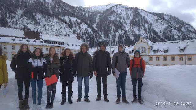 Στις Βαυαρικές Άλπεις μαθητές του 1ου Γυμνασίου Ναυπλίου με το Erasmus+