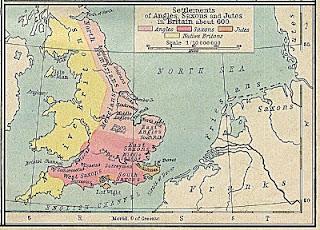 Anglos, jutos y sajones en Britannia