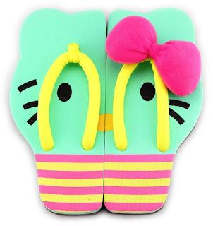 Sandal Lucu Model Terbaru Karakter Hello Kitty