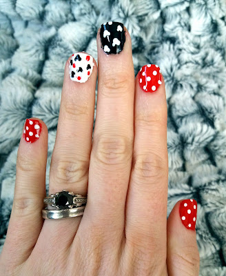 Super Cute Disney Inspried Nail Art