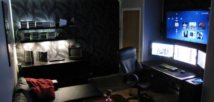sade gamer odası