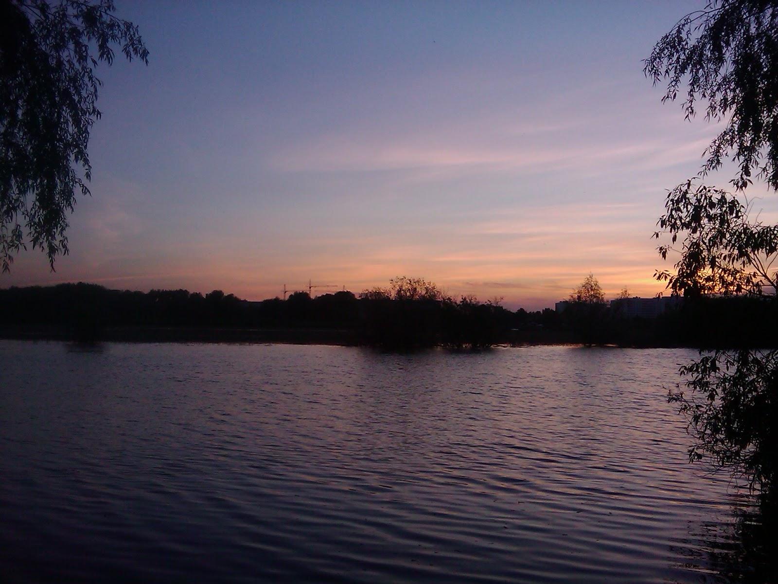 Тихий вечерний закат