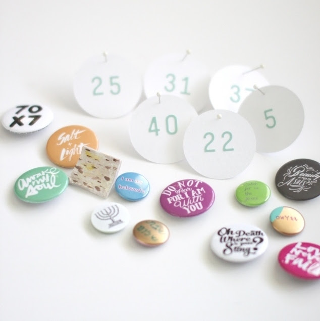 DIY Flair Count the Omer calendar | Land of Honey
