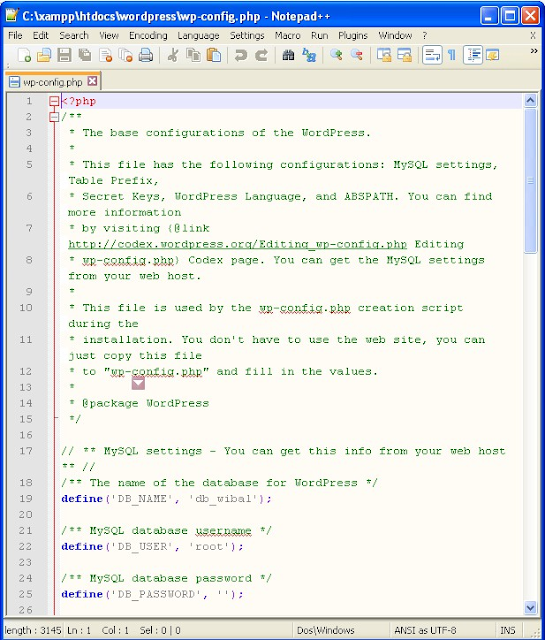 install wordpress di localhost