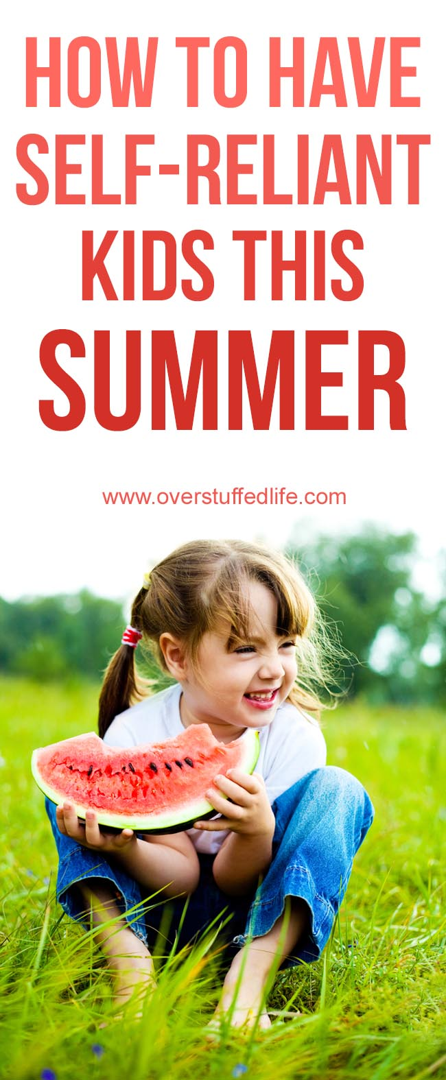 Summer activities for kids that will help encourage self-reliance and productivity