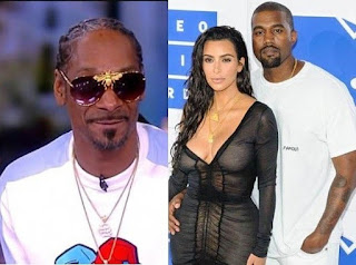 Snoop Dogg takes a swipe at Kim Kardashian West again,says Kanye West 'truly misses a black woman in his life
