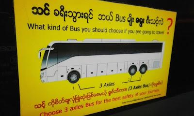 jj express bus yangon to bagan