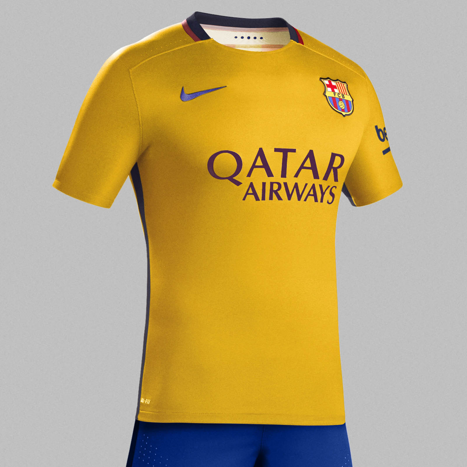 the best attitude 06ee6 0f5d6 fc barcelona away kit 2015
