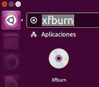 Aplicación Xfburn