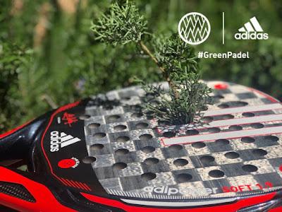 Adidas Pádel comienza un partido que jugamos todos: la lucha contra el cambio climático.